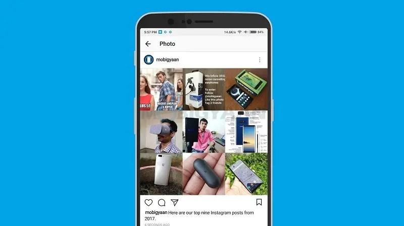 Find top Instagram posts of 2017