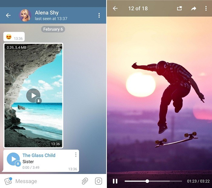 Telegram For Android Updated With Video Streaming