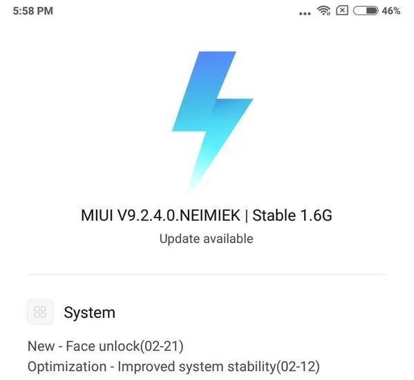 Redmi Note 5 Pro Receives