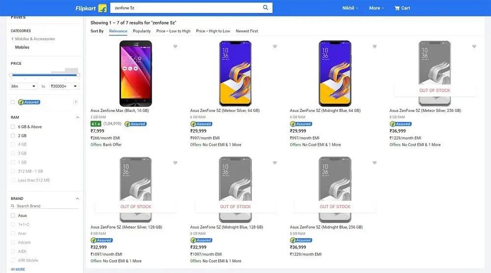 Image result for asus zenfone 5z price in india