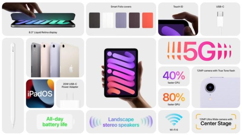 إليكم المواصفات الكاملة لجهاز iPad 6 Mini 2021