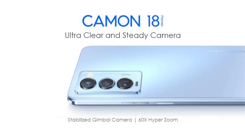 الكشف رسميًا عن Tecno Camon 18 Premier أفضل هواتف تكنو حتى الآن