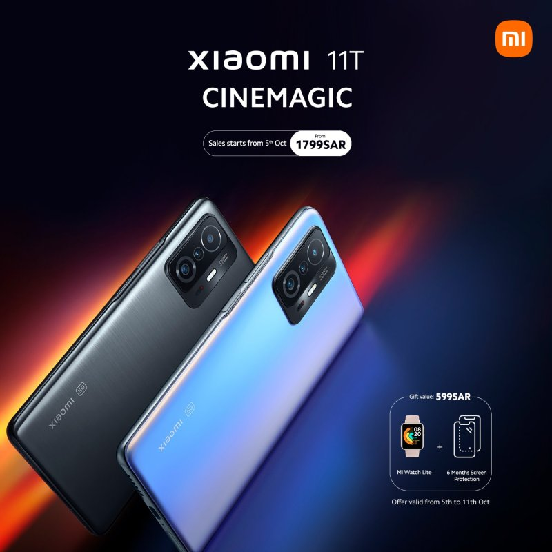 شاومي تطلق سلسلة هواتف Xiaomi 11T الجديدة بالسعودية