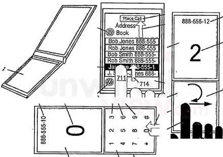Apple patentti läppä iPhone