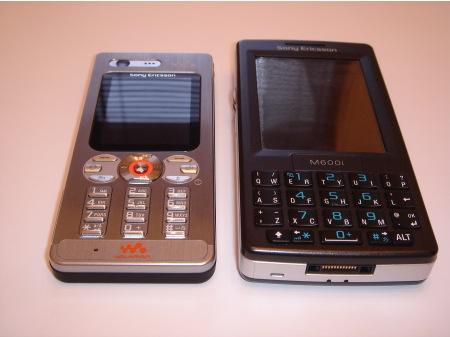 Sony Ericsson W880i ja M600i