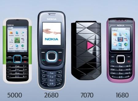 Nokia 5000 2680 7070 1680