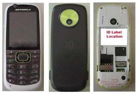 Motorola 3G puhelin