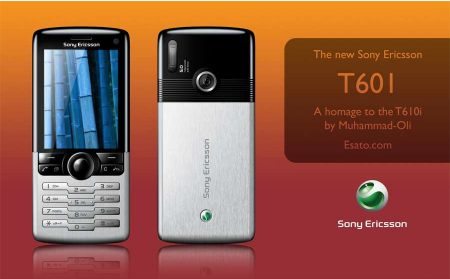Sony Ericsson T601 konsepti
