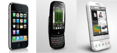 iPhone, Pre, G1