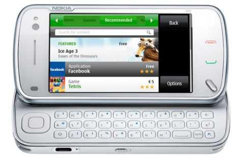Nokia N97 Ovi Store