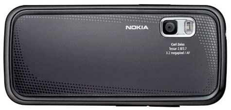 Nokia 5730 XpressMusic takaa
