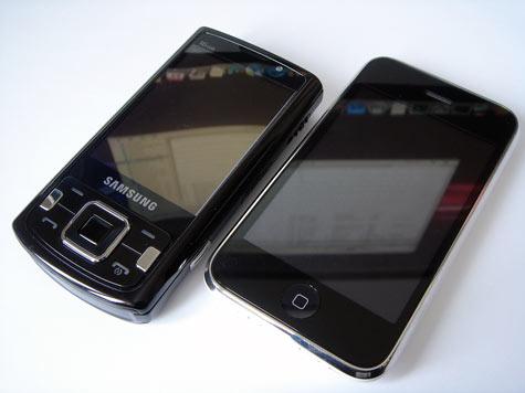 Samsung Innov8 vs. iPhone 3G
