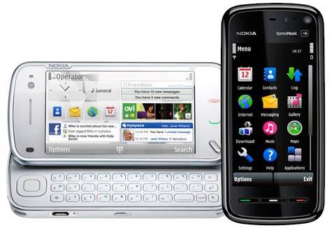 N97 ja 5800 XpressMusic