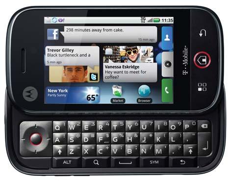 Motorola CLIQ ja DEXT