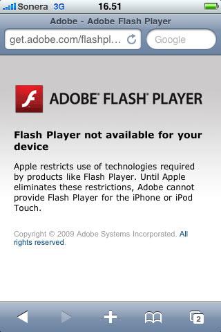 Adobe iPhone
