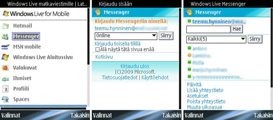 Windows Live for Mobile