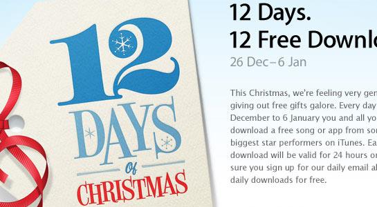 Apple 12 Days of Christmas