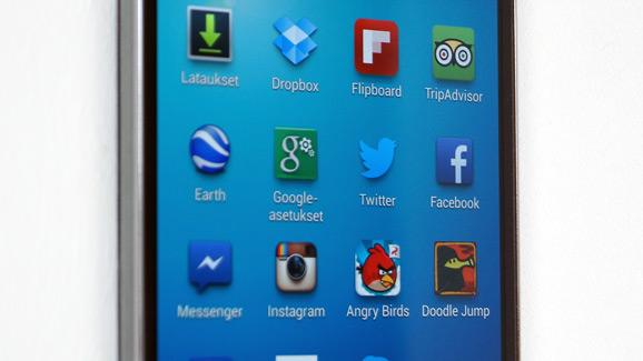 Galaxy S4 full hd -näyttö