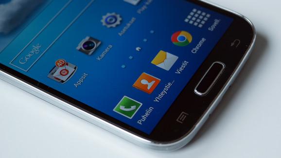 Galaxy S4 painikkeet
