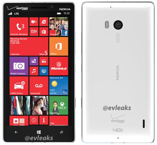 Lumia 929, valkoinen