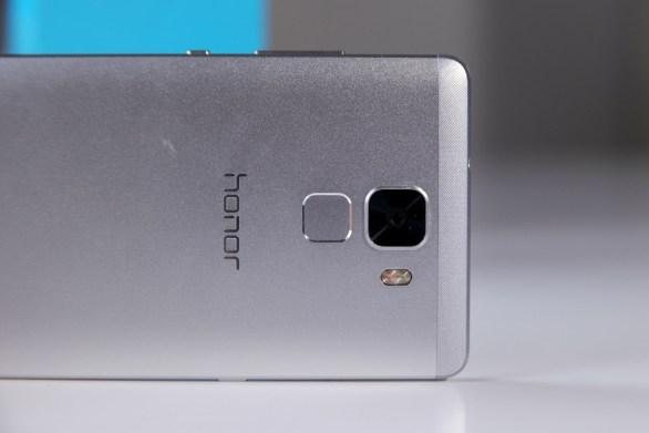 Huawei Honor 7, sormenjälkilukija.
