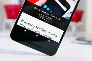 Nexus 6P, näyttö