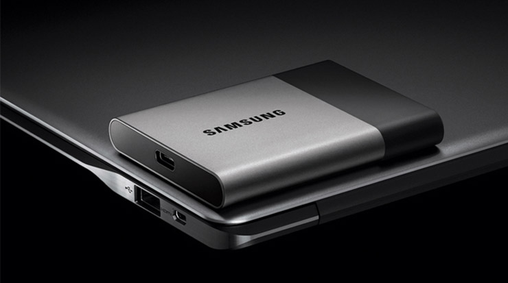 Samsung portable SSD T3 USB Type-C 3.1