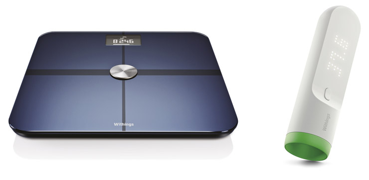 Withings Scale ja Thermo