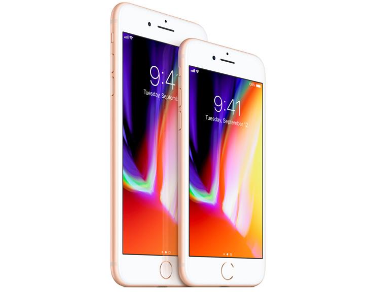 iPhone 8 ja iPhone 8 Plus