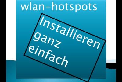 Installieren WLAN HOTSPOT ganz einfach