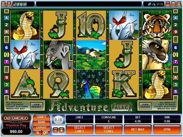 Adventure Palace spel