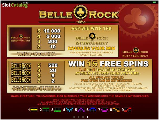 Belle Rock Mobilspel