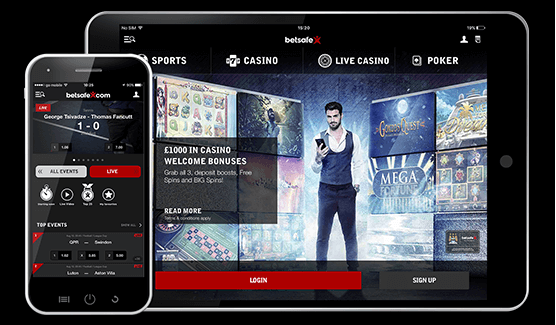 Betsafe casino- Mobile