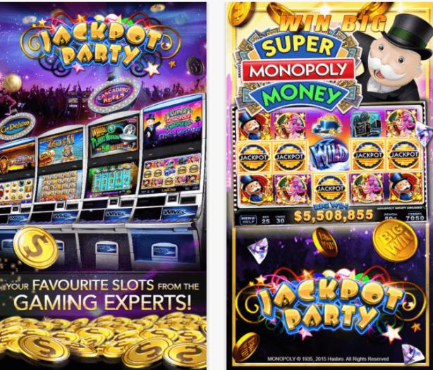 Jackpot Party- Spel