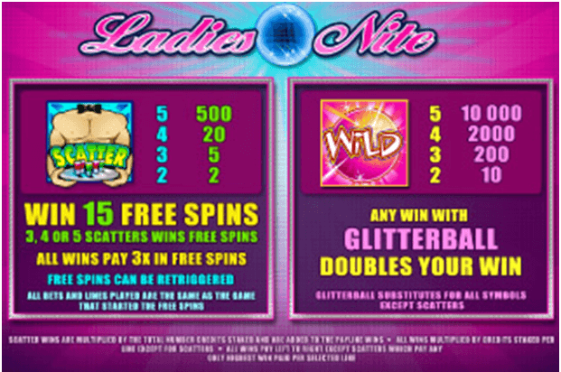 Ladies Nite Mobile spel
