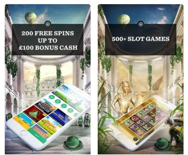 Mr Green Casino gratis app i app store för att spela slots