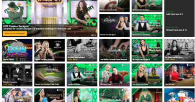 Mr Green Live Casino Games