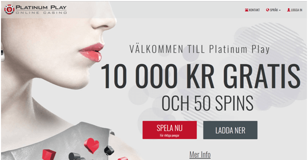 Platinum Play Kasino