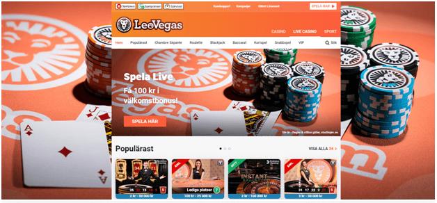 Så snart du gått med väntar en välkomstbonus som ger extra pengar att använda på prisbelönta Live Casino!