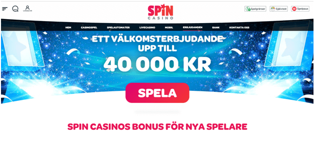 Spin Palace casino se bonus