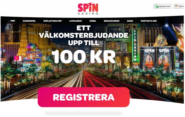 Spin Casino Svenska