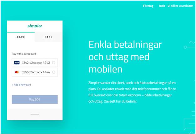 Vilket onlinekasino erbjuder Zimpler insättningsalternativ för svenska spelare
