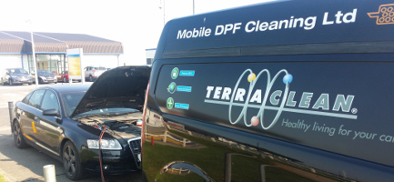 Mobile DPF Cleaning Van