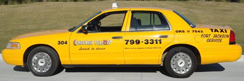 Checker Yellow Cab - Columbia, SC