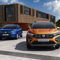 Dacia präsentiert neuen Sandero, Sandero Stepway und Logan
