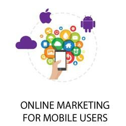 Online marketing for mobile users