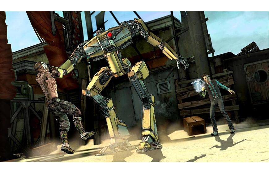 Android için Telltale bilim kurgu ve savaş Oyunları indir