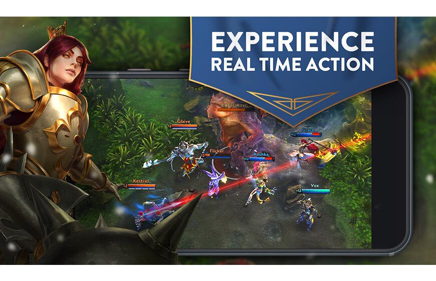 Android için savaş oyunları ve beceri oyunları Vainglory indir