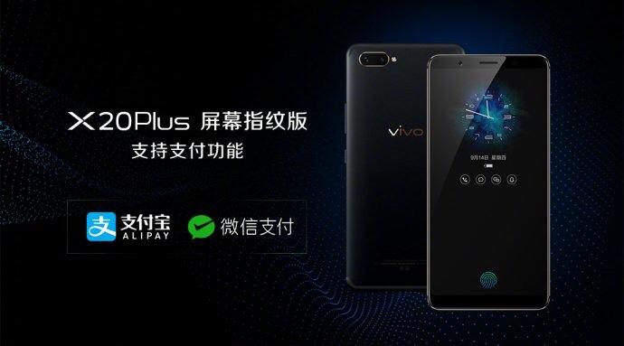 Vivo x20 in screen Fingerprint