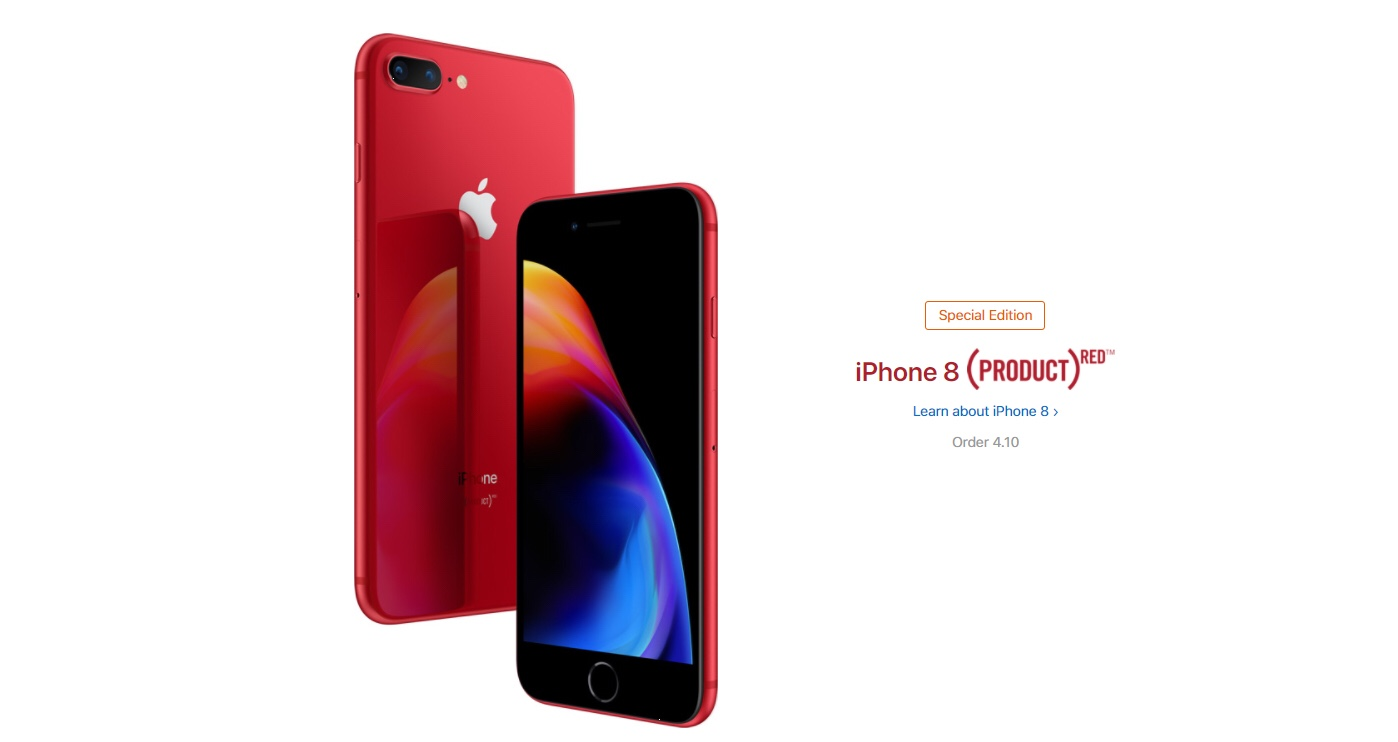 Scarica Lo Sfondo Di Iphone 8 E 8 Plus Productred Ora Mobileblogger
